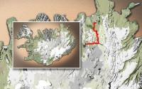 Carte du voyage Islande - 18/06/2011