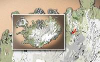 Carte du voyage Islande - 19/06/2011