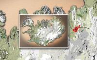 Carte du voyage Islande - 20/06/2011