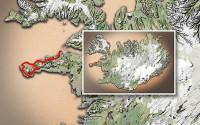 Carte du voyage Islande - 26/06/2011