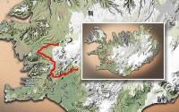 Carte du voyage Islande - 28/06/2011