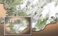Carte du voyage Islande - 03/07/2011