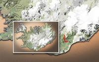 Carte du voyage Islande - 07/07/2011