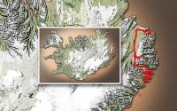 Carte du voyage Islande - 12/07/2011