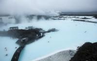 Bassin du Blue lagoon, Islande 2013