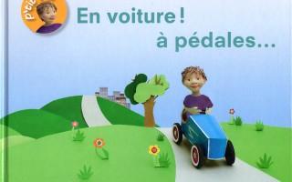 En voiture ! à pédales, couverture, Album jeunesse, Gép - Anne Moreau-Vagnon, Editions Mouck