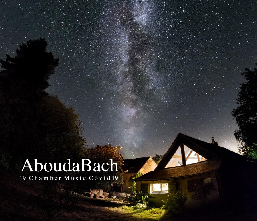 Pochette du CD AboudBach de Norbert Aboudarham